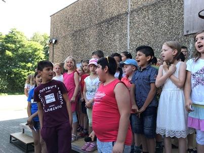 Schulfest und OGS-Jubiläum
