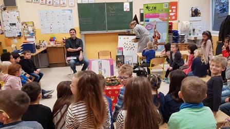 Ein Autor in der Schule